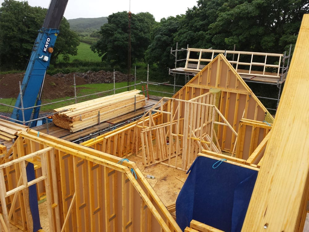Timberframe5 mbc timberframe for Building a timber frame house