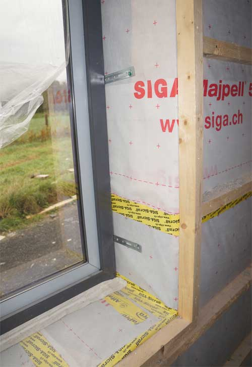 Airtight Home for a Passive House