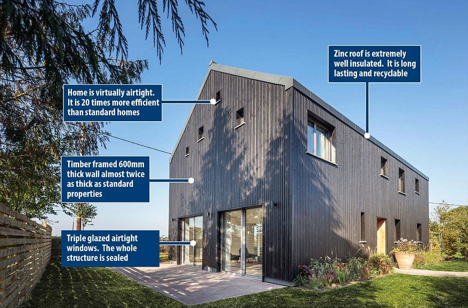 mbc timber frame house as britain s most eco friendly house mbc