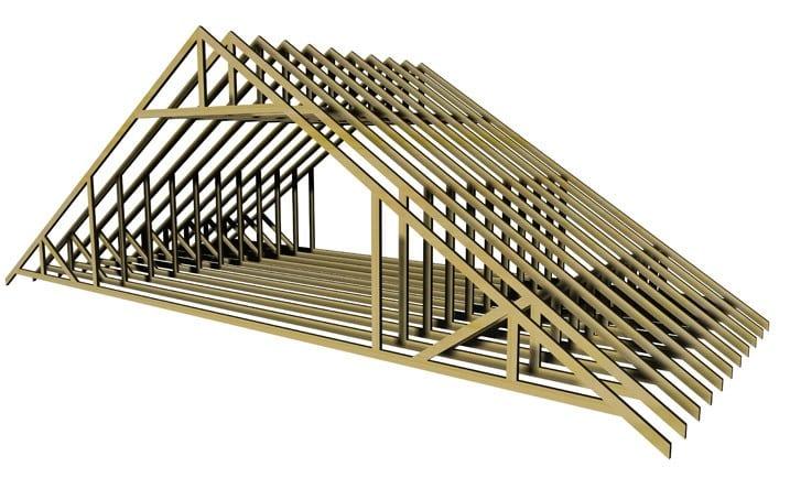 Attic Truss Mbc Timber Frame