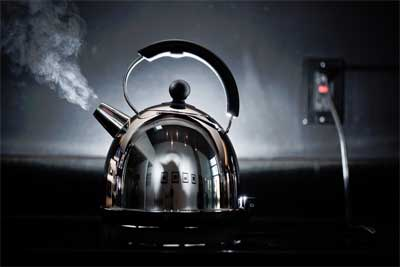 Kettle just boiled?